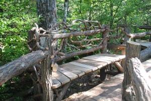 The bog bench