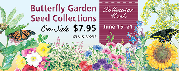 Botanical Interest Butterfly Garden Collection